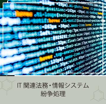 IT関連法務・情報システム紛争処理